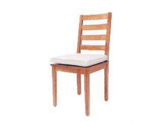 Modrest Lance Modern Ash Wood Dining Chair w/ Cushion (Set of 2)