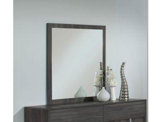 Moderst Luca Italian Modern Grey Mirror