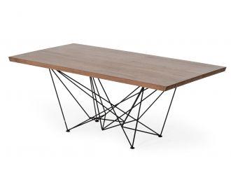 Modrest Naomi Modern Walnut Dining Table