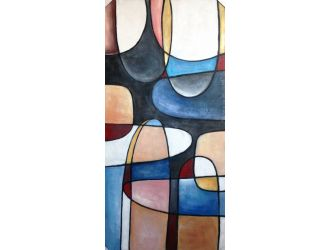 Modrest VIG19021 - Abstract Oil Painting