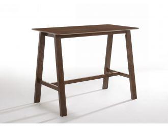 Modrest Lynn - Modern Walnut Bar Table