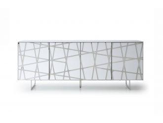 Modrest Kilson - Modern White Buffet