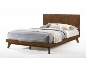 Nova Domus Soren - Modern Walnut Bed