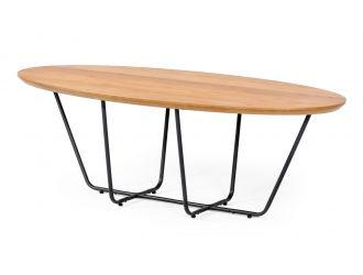 Modrest Esther - Industrial Small Oak Coffee Table