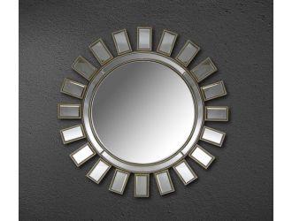 Crescent - Transitional Sun Design Mirror
