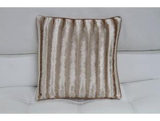 Elegant Faux Fur Square Throw Pillow