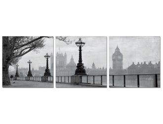 Big Ben 3-Panel Painting