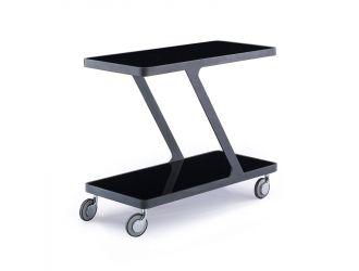 Holt Modern Black End Table