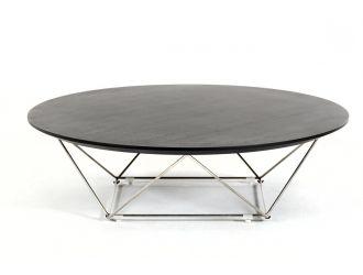 Modrest Spoke Modern Wenge Coffee Table
