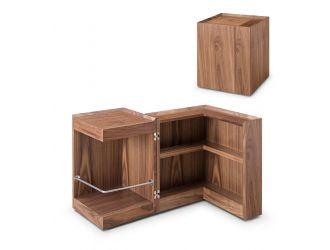 Modrest Delight - Modern Walnut End Table