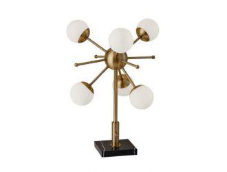 Dopo Doppler - Brass Table Lamp