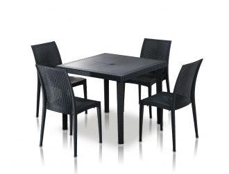 Bistrot - Modern Square Dining Set
