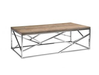 Modrest Jayton Modern Walnut Coffee Table