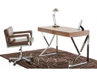 Ferris Modern Walnut Office Desk