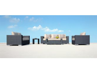 Zakynthos Contemporary Patio Sofa Set