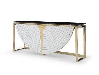 Modrest Flavio - Gold + Marble Console Table