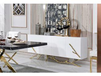 Modrest Legend Modern White & Gold Buffet