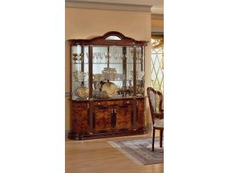 Milady Italian Lacquer 4-Door China Cabinet