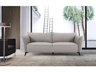 Divani Casa Jihae - Modern Grey Fabric Sofa