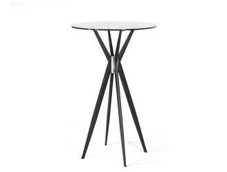 Modrest Kaitlyn - Modern Black Bar Table