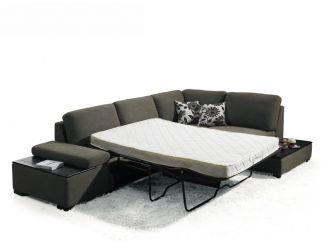 Risto Fabric Sectional Sofa Bed