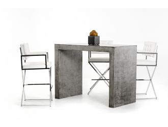 Modrest McGee Modern Concrete Bar Table