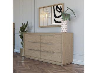 Modrest Samson - Contemporary Grey and Silver Dresser