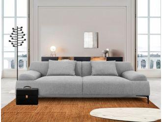 Divani Casa Ronny - Modern Grey Sofa