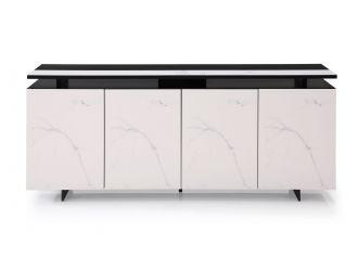 Modrest Schulz - Modern Black & White Ceramic Buffet