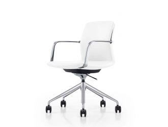 Modrest Sundar - Modern Grey Mid Back Conference Office Chair