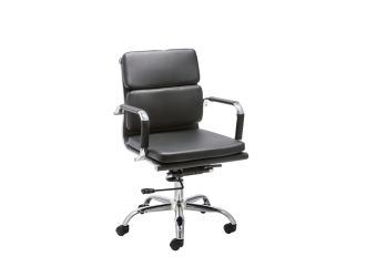 DO NOT ADD ONLINE Modrest Tomar Mid-Century Black Office Chair