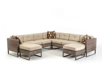 Renava Vigo Outdoor Sectional Sofa Set