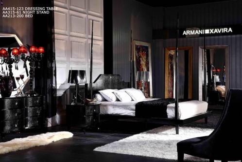 Gothic Armani Xavira Bed