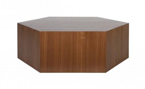 Modrest Newmont - Modern Walnut Coffee Table