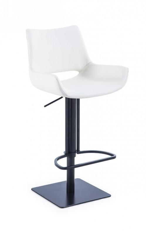 Modrest Niles - Modern White Bar Stool