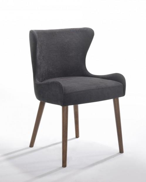 Modrest Jacob - Modern Black Dining Chair (Set of 2)