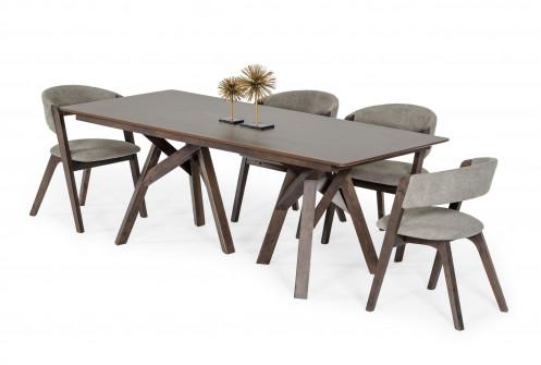 Modrest Grover - Modern Dark Wenge Dining Table