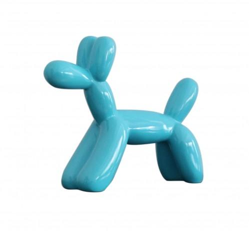 Modrest Modern Blue Balloon Dog Sculpture