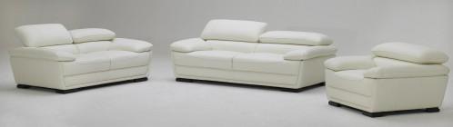 kk 987 Contemporary Off-White Sofa Set