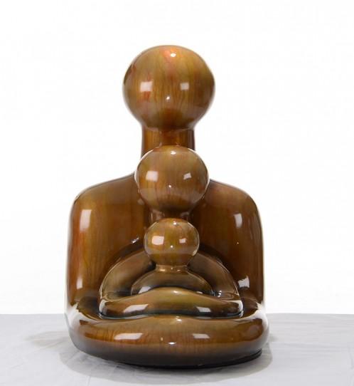 SZ0060 Modern Bronze Family Sculpture