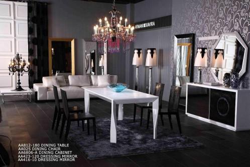 Foggia Modern Armani Xavira Lacquer Table