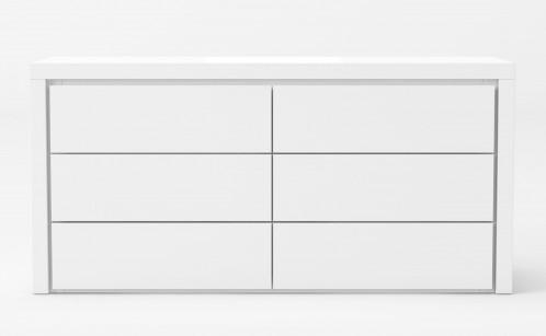 Modrest Adan - Modern White Dresser
