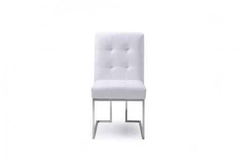 Modrest Whelan Modern White Dining Chair (Set of 2)
