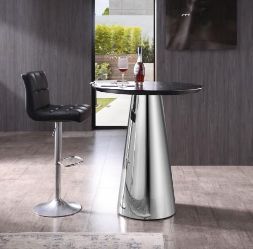 Modrest Enbrook - Modern Wenge Oak Bar Table
