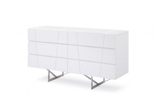 Modrest Chrysler Modern White Dresser
