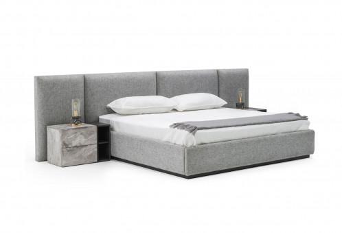Nova Domus Maranello - Modern Grey Bed