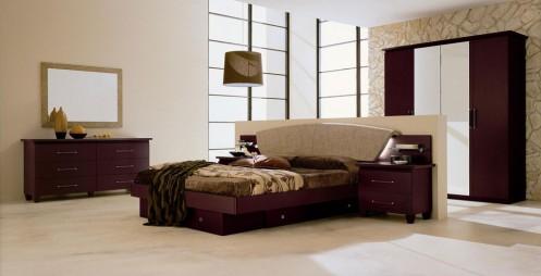 Miss Italia 03 - Modern Platform Bedroom set
