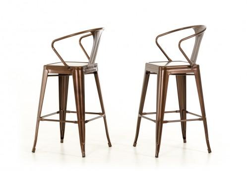 Modrest Ned Modern Copper Bar Stool