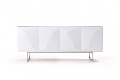 Vanguard Modern White Buffet