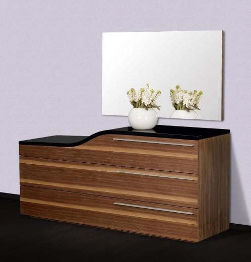 Portofino - Contemporary Curved Dresser